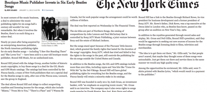 Beatles-Acquisition-NY-Times--1